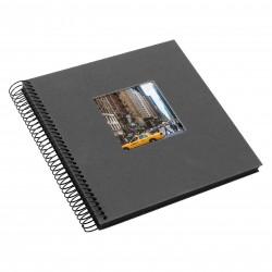 GOLDBUCH GOL-12725 spiral album BELLA VISTA Grey 20x21