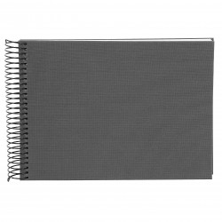 GOLDBUCH GOL-20725 spiral album BELLA VISTA Grey, 23x17 cm, white pages