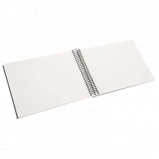 GOLDBUCH GOL-20725 spiral album BELLA VISTA Grey, 23x17 cm, white pages