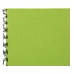 GOLDBUCH GOL-25362 spiral album BELLA VISTA Green, 34x30 cm, white pages