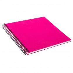 GOLDBUCH GOL-25364 spiral album BELLA VISTA Pink, 34x30 cm, white pages