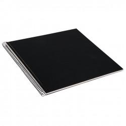 GOLDBUCH GOL-25377 spiral album BELLA VISTA Black, 34x30 cm, white pages