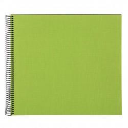 GOLDBUCH GOL-25962 spiral album BELLA VISTA Green, 35x30 cm, black pages