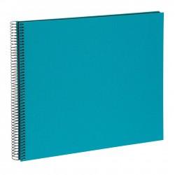 GOLDBUCH GOL-25963 spiral album BELLA VISTA Turquoise, 35x30 cm, black pages