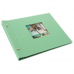 GOLDBUCH GOL-26728 Screw bound album BELLA VISTA neo-mint w. black pages