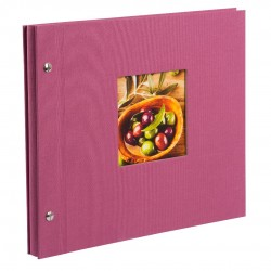 GOLDBUCH GOL-26808 Screw Album BELLA VISTA Fuchsia - small