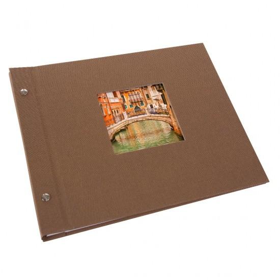 GOLDBUCH GOL-26816 Screw Album BELLA VISTA Coffee Bronze- small