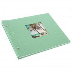 GOLDBUCH GOL-26828 Screw bound album BELLA VISTA neo-mint w. white pages