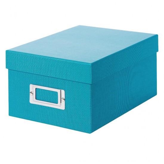 GOLDBUCH GOL-85973 BELLA VISTA storage box for 700 photos - Turquoise
