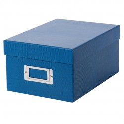 GOLDBUCH GOL-85975 BELLA VISTA storage box for 700 photos - Blue