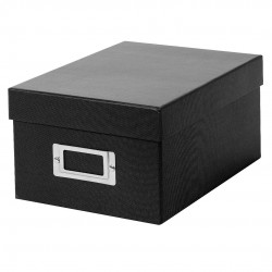 GOLDBUCH GOL-85979 BELLA VISTA storage box for 700 photos - Black