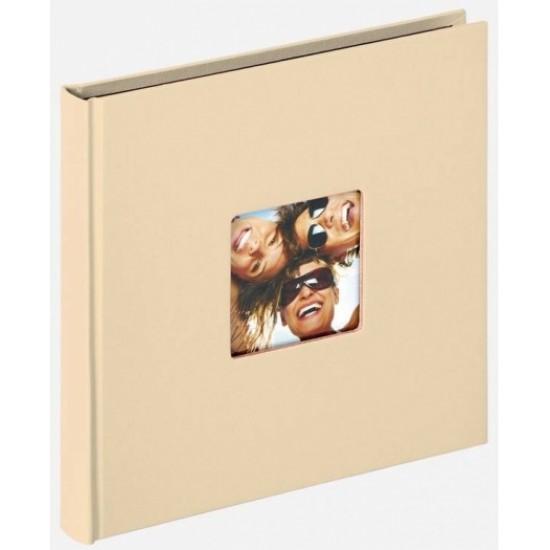 Walther Design FA-199-H photoalbum FUN 18 x 18 cm beige 30 page's