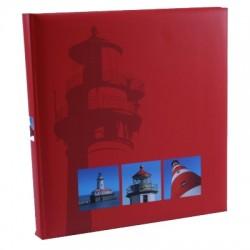 GOLDBUCH GOL-27131 Vakantiealbum VACANZA rood als fotoboek