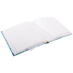 GOLDBUCH GOL-24442 TURNOWSKY Kinderalbum PETS blauw als fotoboek, 25x25 cm