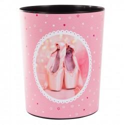 GOLDBUCH GOL-82290 paperbin BALLERINA pink