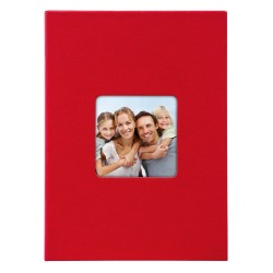GOLDBUCH GOL-17092 slip-in album LIVING red, 17x12 cm, 40 photos