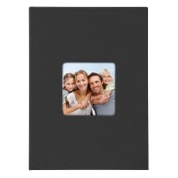 GOLDBUCH GOL-17093 slip-in album LIVING black, 17x12 cm, 40 photos