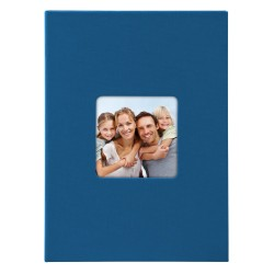 GOLDBUCH GOL-17094 slip-in album LIVING blue, 17x12 cm, 40 photos