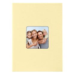 GOLDBUCH GOL-17095 slip-in album LIVING beige, 17x12 cm, 40 photos
