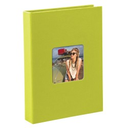 GOLDBUCH GOL-17096 slip-in album LIVING cactus lime, 17x12 cm, 40 photos