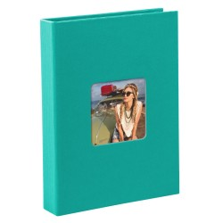 GOLDBUCH GOL-17099 slip-in album LIVING turquoise, 17x12 cm, 40 photos