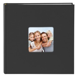 GOLDBUCH GOL-17193 memo slip-in album LIVING black for 200 photos of 4x6 in