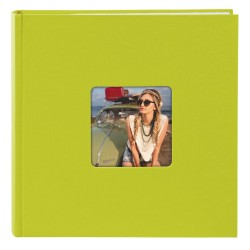 GOLDBUCH GOL-17196 memo slip-in album LIVING cactus lime green for 200 photos of 4x6 in