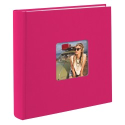 GOLDBUCH GOL-17197 memo slip-in album LIVING magenta sapphire pink for 200 photos of 4x6 in