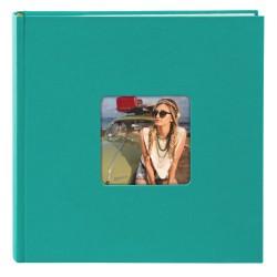 GOLDBUCH GOL-17199 memo slip-in album LIVING emerald turquoise for 200 photos of 4x6 in