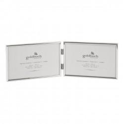 GOLDBUCH GOL-960362 Photoframe FINE silver 2x 15x10 cm