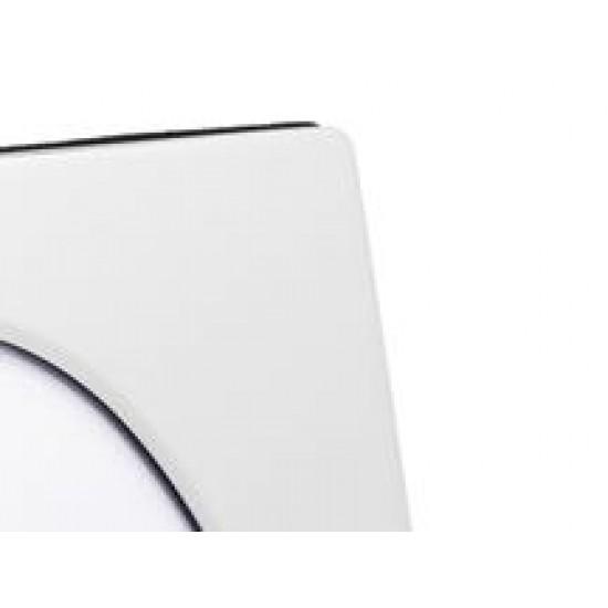 Zilverstad photo frame 13x18cm (2x) silver plated Ovaal glans Tweeluik