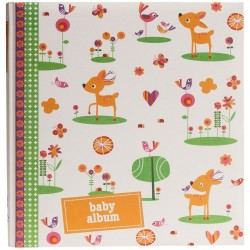GOLDBUCH GOL-15036 Baby photo album Mille Marille orange