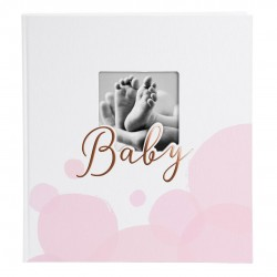 GOLDBUCH GOL-15194 Baby photo album BUBBLES pink