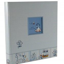 GOLDBUCH GOL-15200 Babyalbum NOSTALGIE Blauw als Fotoboek