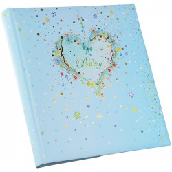 GOLDBUCH GOL-15316 TURNOWSKY Baby photo album BLUE HEART