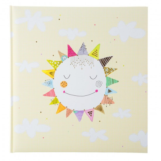 GOLDBUCH GOL-15362 TURNOWSKY Babyalbum HAPPY SUN als Fotoboek