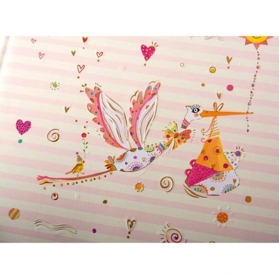 GOLDBUCH GOL-15445 TURNOWSKY Baby photo album ADEBAR pink