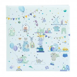 GOLDBUCH GOL-15467 TURNOWSKY Baby album WONDERLAND blue Photo album