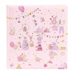 GOLDBUCH GOL-15469 TURNOWSKY Baby album WONDERLAND pink Photo album