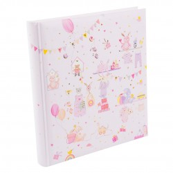 GOLDBUCH GOL-15469 TURNOWSKY Baby album WONDERLAND pink Photo album