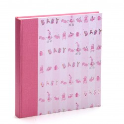 GOLDBUCH GOL-15588 Babyalbum BAMBINA Roze als Fotoboek