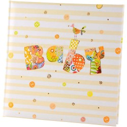 GOLDBUCH GOL-17211 TURNOWSKY Baby memo slip-in album BABY CIRCLE for 200 photo's