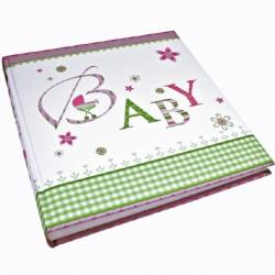 GOLDBUCH GOL-15085 Babyalbum LOVELY roze als fotoboek