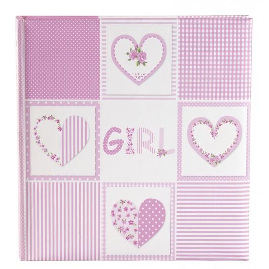 GOLDBUCH GOL-15377 Babyalbum ROMANTIC roze als fotoboek