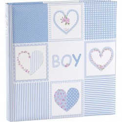 GOLDBUCH GOL-15378 Babyalbum ROMANTIC blauw als fotoboek