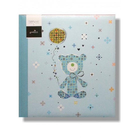 GOLDBUCH GOL-15431 Babyalbum TEDDY&Co blauw als fotoboek