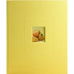GOLDBUCH GOL-15694 Babyalbum RACHEL HALE abrikoos-geel als Fotoboek