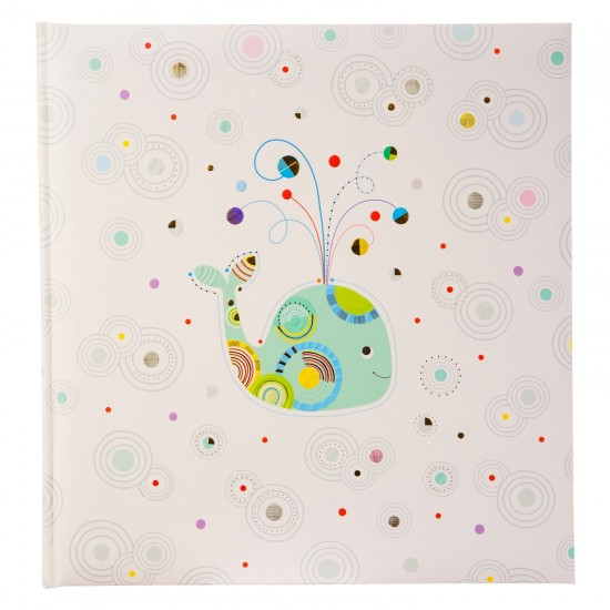 GOLDBUCH GOL-15464 TURNOWSKY Baby photo album WHALE SERENITY