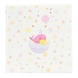 GOLDBUCH GOL-15466 TURNOWSKY Baby album LITTLE WHALE PINK Photo album