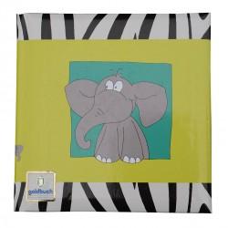 GOLDBUCH GOL-41034-O poesiealbum SAFARI elephant
